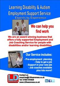 LD A Employment Support leaflet Jan 2016